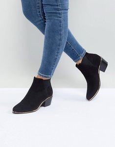 Read more about Asos reno western chelsea boots - black