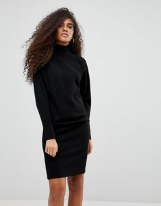Read more about B young high neck jumper dress - black
