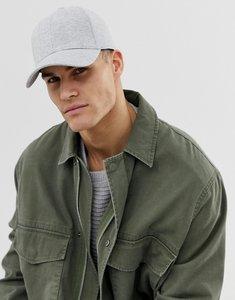 Read more about Jack jones grey baseball cap - light grey melange