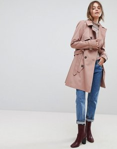Read more about Asos classic trench coat - pink