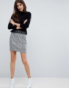 Read more about Parisian check mini skirt - black white