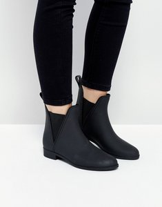 Read more about Asos game chelsea wellies - matt black