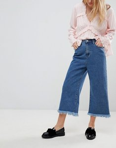 Read more about Glamorous culotte jeans - mid blue