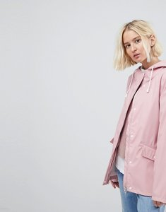 Read more about Vero moda waterproof rain coat - pale pink