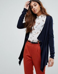 Read more about Vero moda waterfall cardigan - navy blazer