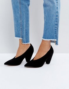 Read more about Asos shiraz pointed heels - black