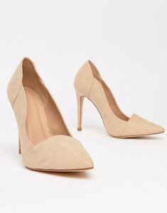 Read more about New look pointed court shoes - beige