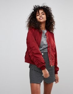 Read more about Monki bomber jacket - red