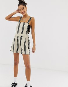 Read more about Noisy may stripe linen playsuit