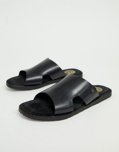 Read more about Base london arena sandals in black leather