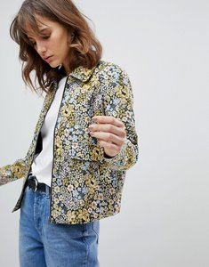Read more about Selected floral printed jacket - multi