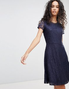 Read more about Only mystery lace skater dress - night sky