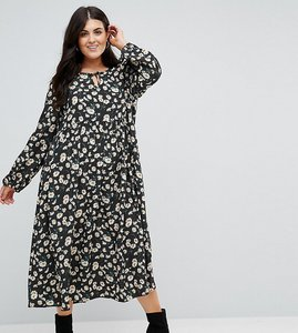 Read more about Alice you smock dress in vintage dot floral - black dot daisy