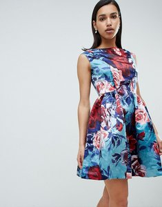 Read more about Closet london floral prom dress - multi