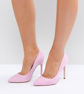Read more about Asos paris pointed high heels - pink