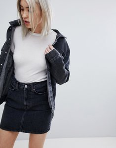 Read more about Weekday single trucker jacket - free black