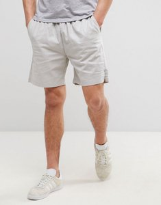 Read more about French connection cotton draw string shorts - grey