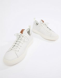 Read more about Polo ralph lauren dunovin leather sock trainers in white