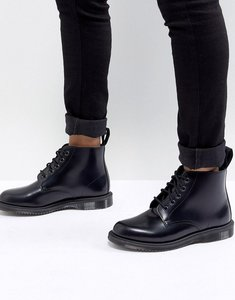 Read more about Dr martens emmeline refined lace up leather boot - black polished smoot