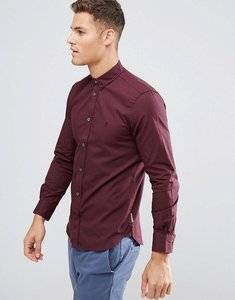 Read more about French connection slim fit shirt - red