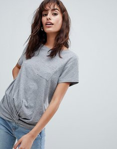 Read more about Esprit twisted t-shirt - grey