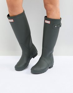 Read more about Hunter original tall wellington boot in dark olive - dark olive