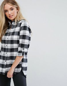 Read more about Parisian check shirt - black white