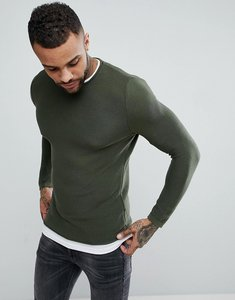 Read more about Pull bear double layer sweatshirt in khaki - khaki