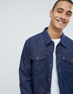 Read more about Levis trucker varsity jacket - blue