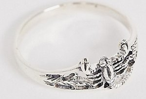 Read more about Designb scorpion ring in sterling silver
