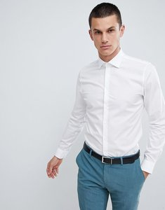 Read more about Michael kors slim fit smart shirt in stretch - white