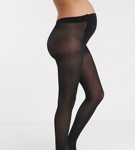 Read more about Asos design maternity new improved fit 50 denier tights - black
