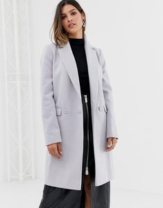 Read more about Asos classic slim coat - grey