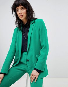Read more about Ba sh tailored blazer - green