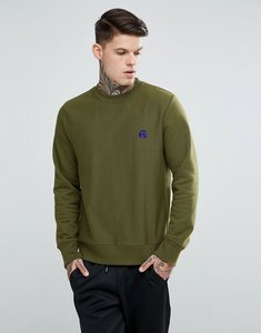 Read more about Ps paul smith ps logo crew neck sweat in khaki - khaki