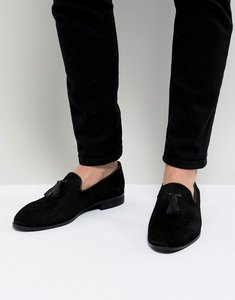 Read more about House of hounds bain tassel loafers in black - black