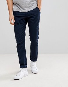 Read more about Farah elm slim fit chino in navy - true navy 412