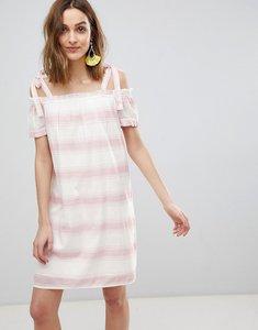 Read more about Vero moda cold shoulder stripe dress - zephry multi stripe