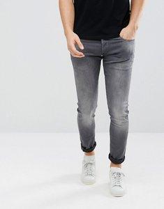 Read more about G-star 3301-a super slim jeans distressed repair wash black - black