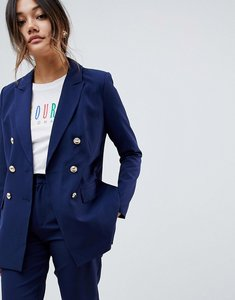 Read more about Amy lynn double breasted blazer - navy