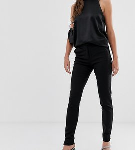 Read more about Y a s tall ecco tailored ankle length cigarette trouser in black