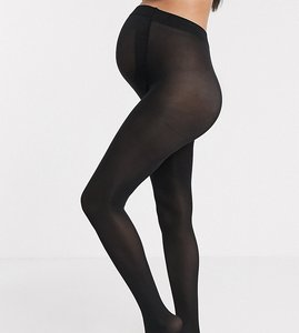 Read more about Asos maternity new improved fit 80 denier tights - black