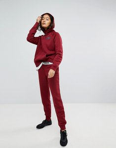 Read more about Nike rally tight fit sweat pants in burgundy - team red team red b