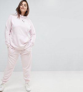 Read more about Nike plus rally regular fit sweat pants in pearl pink - pink
