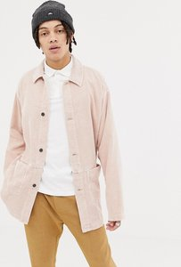 Read more about Asos cord worker jacket in pink - pink