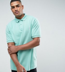Read more about Polo ralph lauren big tall pique polo slim fit in green - bayside green