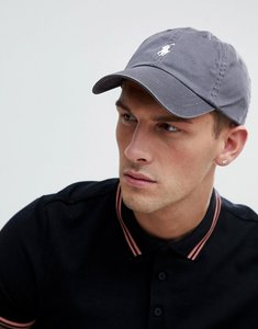 Read more about Polo ralph lauren logo baseball cap in light grey - perfect grey