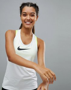 Read more about Nike pro training tank in white - white black
