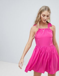 Read more about Vero moda tie shoulder cami dress - rose violet pink