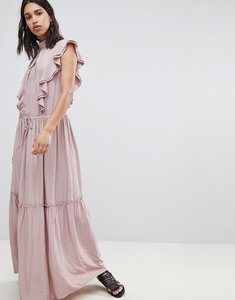 Read more about Sofie schnoor high neck maxi dress - rose